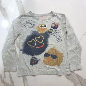 J. Crew Shirts & Tops - J CREW CREWCUTS Little Girls LS Tee Size 4-5